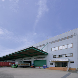 IY Takayama clothing logistics center